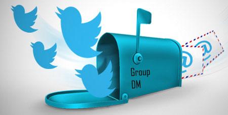 Туитър групови лични съобщения