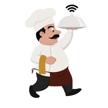 маркетинг чрез безжичен интернет за ресторанти