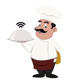 безплатен wifi интернет в ресторанта като маркетингова услуга