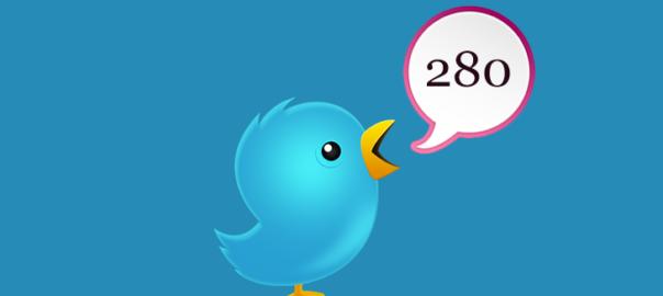 Туитър увеличи символите на 280