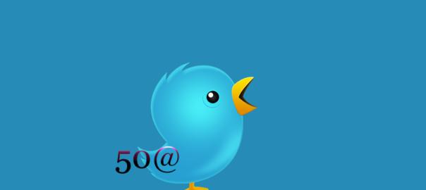 Туитър увеличи символите в името си до 50