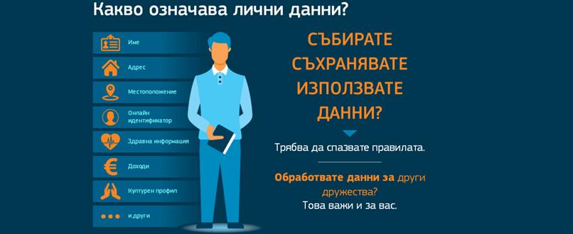 GDPR лични данни