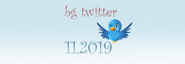 бг туитър ноември 2019